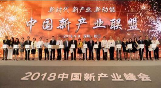 2018中国新产业峰会现场