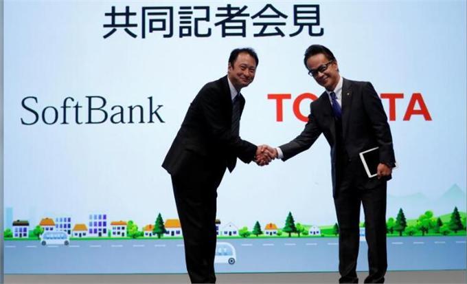 丰田和软银牵手组建新合资企业 启动资金20亿日元专注自动驾驶技术