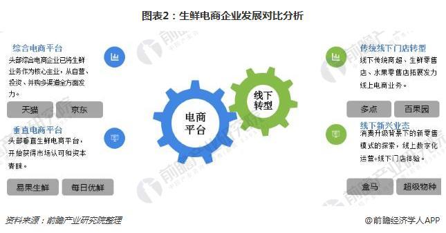 图表2:生鲜电商企业发展对比分析