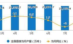 8月原煤产量增速回升 累计产量为227478.2万吨
