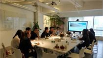 世茂集团代表来访前瞻产业研究院洽谈特色小镇项目合作