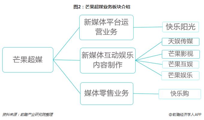 图2:芒果超媒业务板块介绍