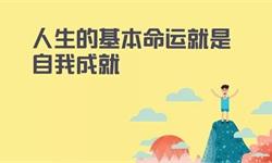 陈春花:人生的基本命运就是自我成就