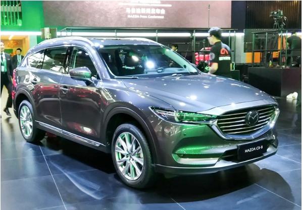 2018广州车展:内饰沿用日规版设计 国产马自达CX-8首发