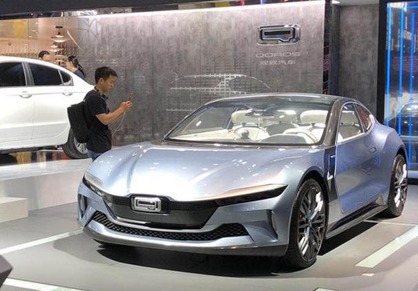 2018广州车展:超跑设计风格特异 观致纯电动概念车抢先曝光