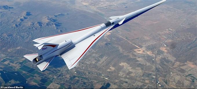 洛克希德·马丁与NASA合作研发的X-59飞机已开始制造 将于2021年首飞