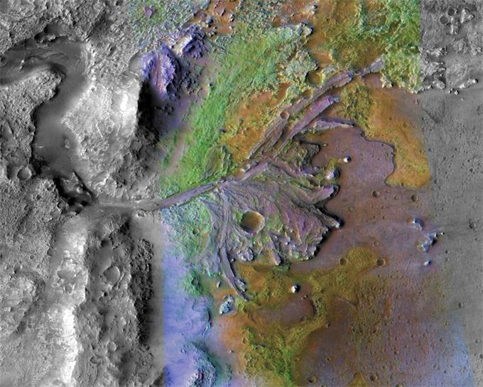 NASA确定火星2020任务着陆地点:一个可能存在古代火星生命证据的地方