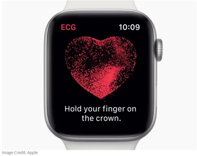 苹果最新智能手表即将上线心电图功能 暂时只在美国地区推出