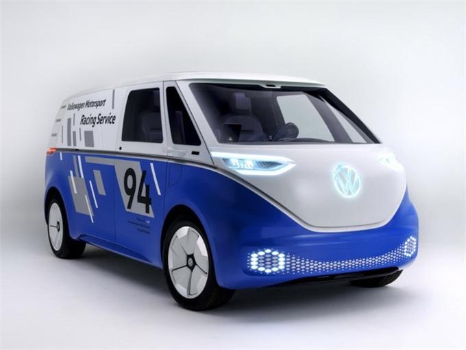 充满前卫科技色彩 大众I.D. Buzz Cargo将亮相洛杉矶车展