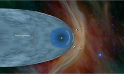 NASA历时41年的里程碑太空任务:旅行者2号最终飞出太阳系