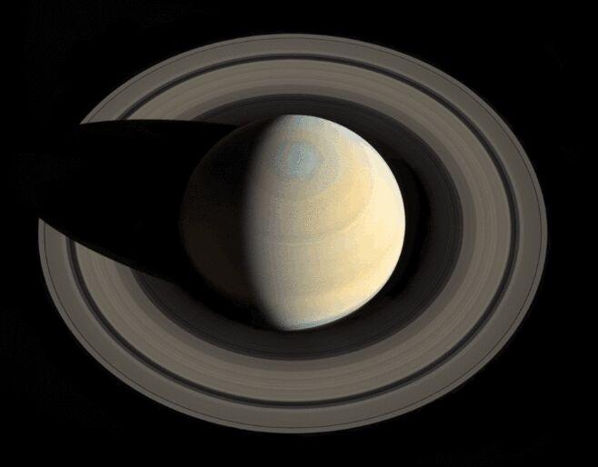 土星环正在消失