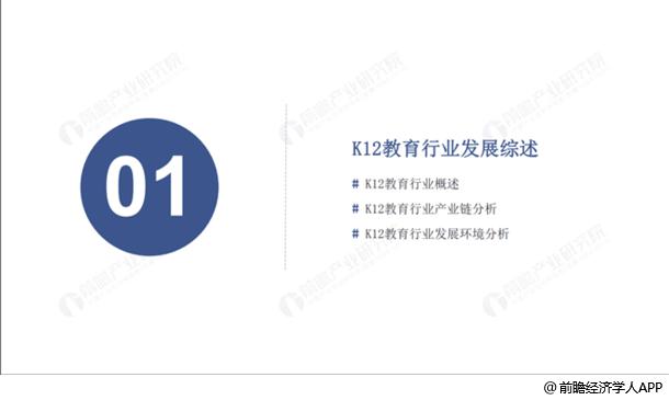 K12教育行業發展綜述