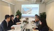 江苏深国际句容物流产业园相关领导到访前瞻洽谈合作事宜