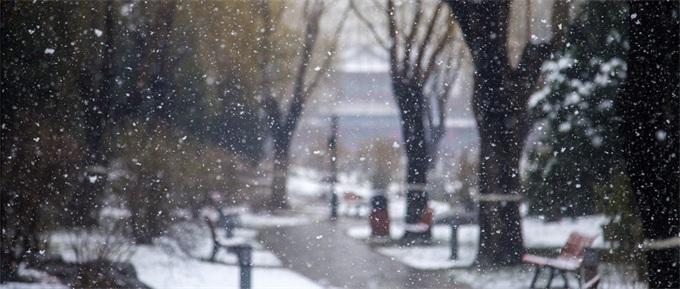 乐极生悲!海南人看下雪兴奋成面瘫 口歪眼斜口水止不住