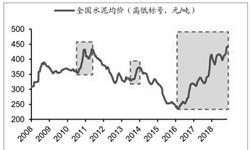 前11月全国<em>水泥</em>产量接近20亿吨 累计增长2.3%