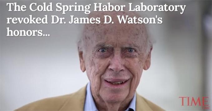 """DNA之父剥夺头衔!屡称""""智商取决于种族和基因"""" 曾476万美元卖掉诺贝尔奖章"""