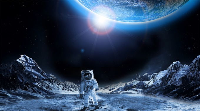 欧航局公布新太空计划:2025年前要让人类登月 并开采月球矿藏