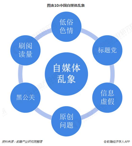 图表10:中国自媒体乱象