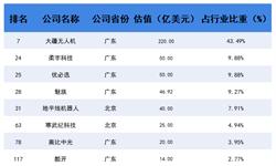 2018年中国203家独角兽所在行业解读之——硬件:飞行器大疆无人机成为领头羊