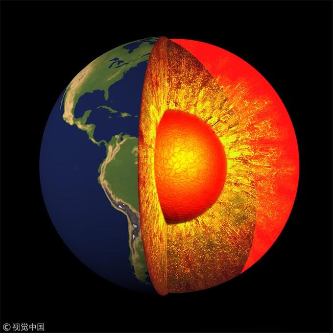 5亿多年前的生物濒临灭绝之险:地核固体化增强磁层强度得以化解