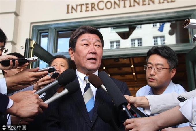 日本经济部长茂木敏充:希望加快与美国展开贸易谈判