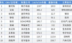 董明珠登顶2019中国上市公司最佳女性CEO榜首 职场丽人掌权下企业不一样的表现