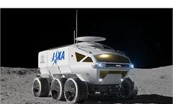 月球概念车!日本航天局与汽车制造商丰田合作研发新型月球车