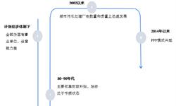2018年中国污水处理市场发展现状分析  PPP模式逐渐兴起,主要处理能力集中在城市【组图】
