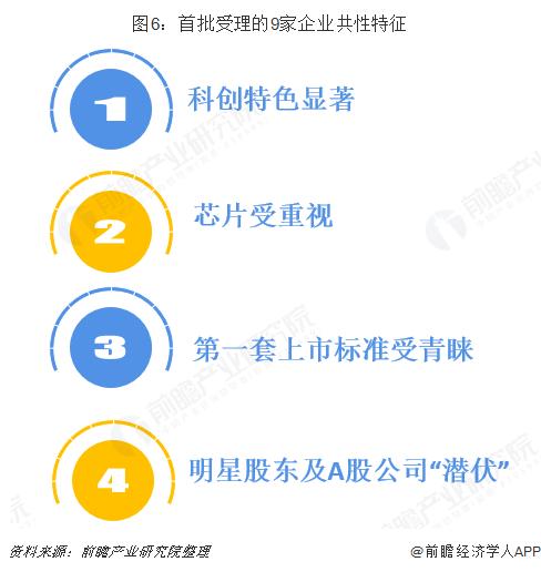 图6:首批受理的9家企业共性特征
