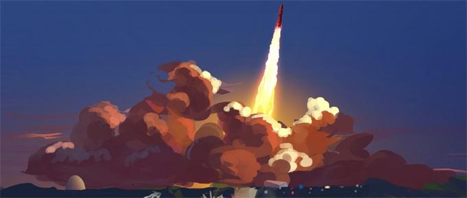 SpaceX猎鹰火箭本将把电信卫星送入轨道 遭遇强风发射推迟