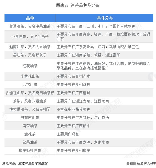 高州油茶_2018年茶油行业市场结构与发展前景分析 潜在需求旺盛【组图 ...
