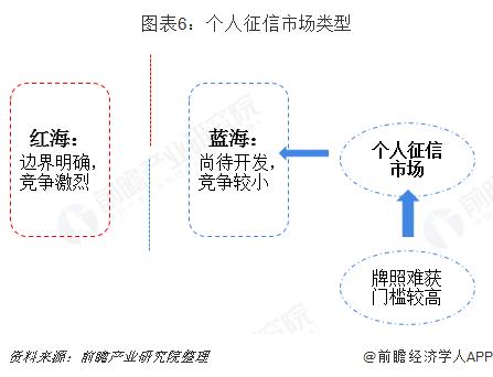 图表6:个人征信市场类型