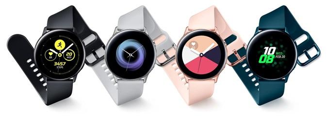 三星Galaxy Watch Active:小巧超轻设计佩戴舒适 血压监测功能是一大亮点