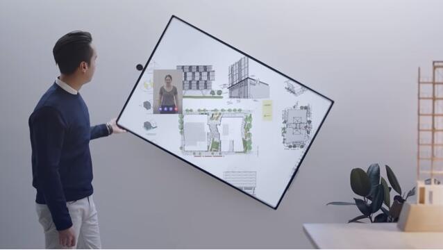 """微软发布Surface Hub 2S/2X:4K互动大屏幕加持 办公会议室必备""""新宠""""来了!"""