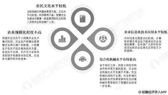 中国智慧农业应用过程中发展问题分析情况