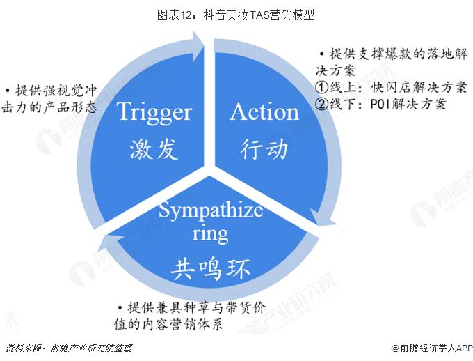 图表12:抖音美妆TAS营销模型