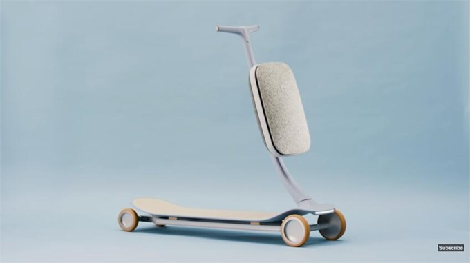 未来感十足!蔚来联名推出AI电动滑板车NIO Pal 可根据习惯自动带你到目的地
