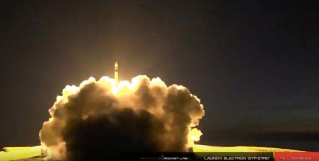 火箭實驗室成功為美國空軍發射三顆實驗衛星 但比原定日期推遲了一天