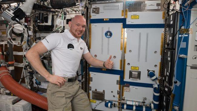 空间站上的新型藻类生物反应器 可为宇航员提供氧