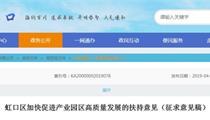 上海虹口区产业园区发展扶持政策