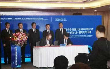 前瞻产业研究院携手渭南市打造道地中药材创新小镇