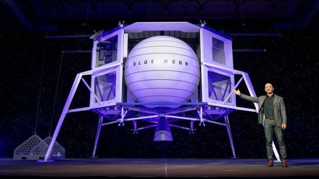 """美国2024登月就靠它?揭秘蓝色起源的""""蓝月亮""""月球"""