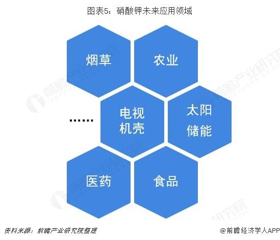 图表5:硝酸钾未来应用领域