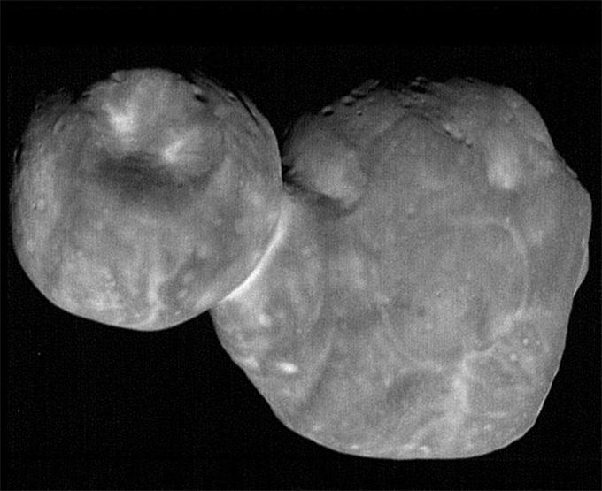 45亿年前的一次宇宙之吻:Ultima Thule小行星的形成之谜
