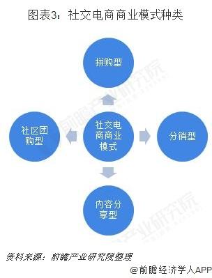 圖表3:社交電商商業模式種類
