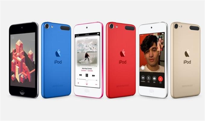 苹果新款iPod touch正式开售 售价1599元起支持花