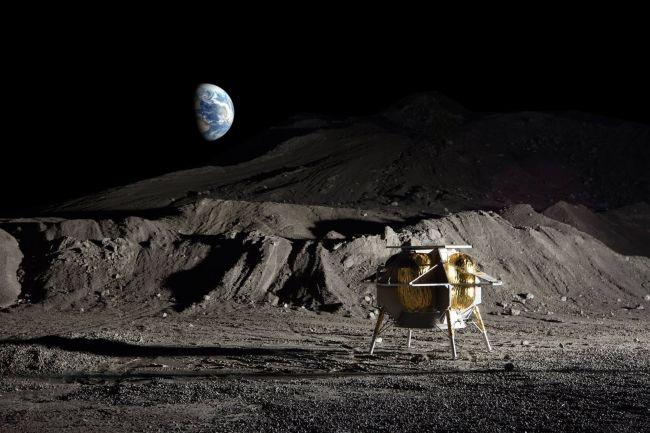 "NASA大搞太空""地外经济"" 资助三家商业公司开发月球着陆器"