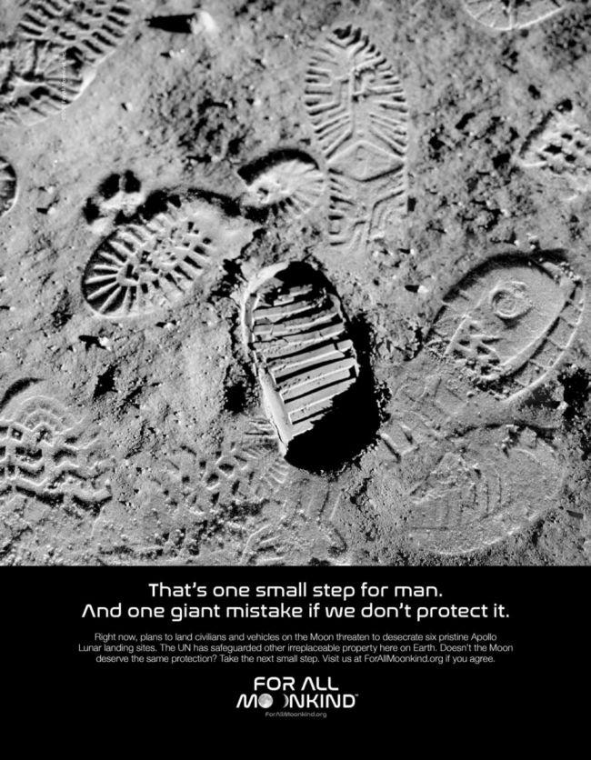 美国两党议员共同发声:通过法案保护人类登陆月球遗址