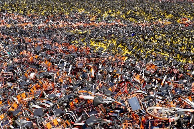天津:99%共享單車可再利用 明年全國1000萬輛單車將報廢