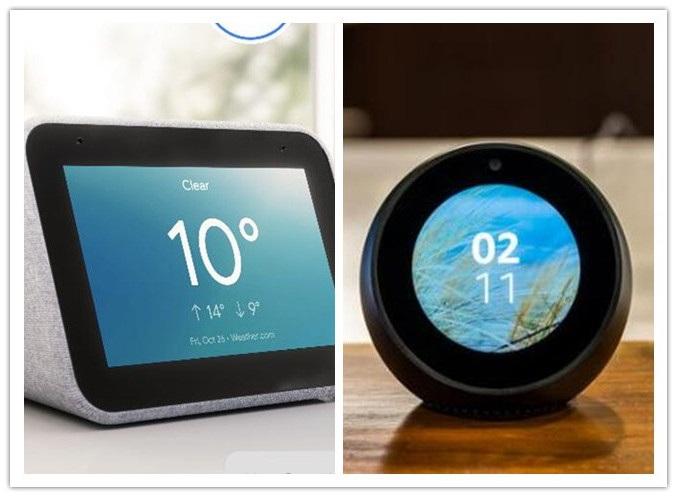 比较 | 联想Smart Clock遇上亚马逊Echo Spot:哪款智能闹钟更懂你?
